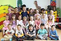 Děti z mateřské školy v Hospřízi.