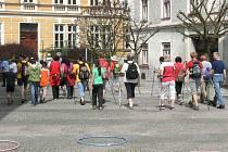 Ve Slavonicích se sešli vyznavači nordic walking.