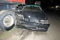 Dvojice dopravních nehod na Jindřichohradecku.