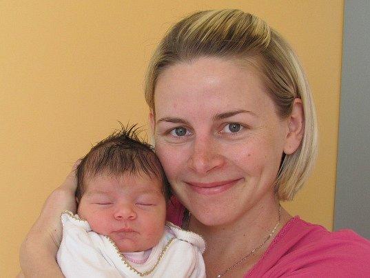Zora Tomková se narodila 24. dubna Haně Beranové a Adamu Tomkovi z J. Hradce. Vážila 3720 gramů a měřila 50 centimetrů.