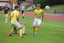 Jindřichohradecký středopolař Martin Janák se podílel na obou gólech svého celku v Soběslavi.
