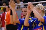 V posledním kole interligy házenkářek prohrál jindřichohradecký tým doma s pražskou Slavií.