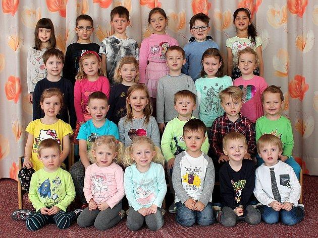 "3. mateřská škola ""UMerkuru"" na sídlišti Vajgar vJindřichově Hradci – třída Kytičky."