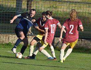 Fotbalisté Nové Včelnice prohráli v Dražicích
