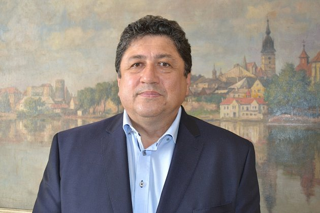 Jindřichohradecký starosta Jan Mlčák.