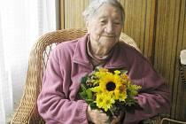 Anežka Háková z Třeboně oslavila 98 let.