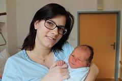 Vít Hofman se narodil 9. února Denise Pavelcové a Lukáši Hofmanovi z Nové Bystřice. Měřil 49 centimetrů a vážil 3640 gramů.