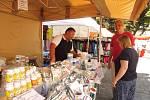 Prezentace třeboňských lázní, Lázeňská Třeboň, nalákala  na náměstí místní, rekreanty i lázeňské hosty.