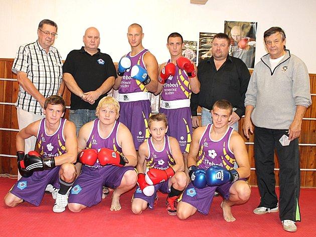 Sk Boxing Třeboň je novým účastníkem celostátní I. ligy.