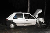 Dopravní nehoda v Blažejově.