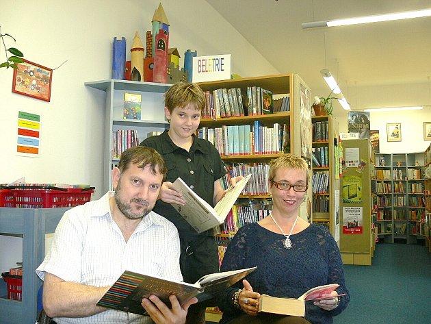 Nejlepší čtenářská rodina je z Jindřichova Hradce.