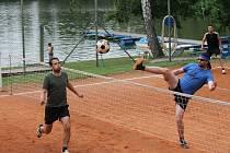 Jindřichohradecká plovárna by s novým provozovatelem měla daleko více ožít sportovními akcemi, jako například nohejbalovými turnaji.
