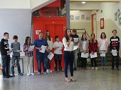 V základní škole B. Němcové v Dačicích funguje nový výtah.