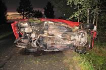 Doplavní nehoda u Novosedel nad Nežárkou.