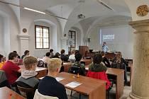 Program pro žáky a studenty připravilo Muzeum Jindřichohradecka v rámci Týdne knihoven.