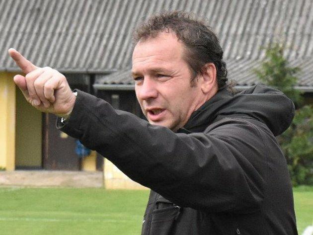 Jindřichohradecký trenér Roman Lukáč.