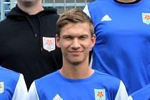 Třeboňský útočník Martin Průcha zaznamenal proti Blatné hattrick.