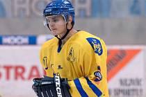 Obránce Michal Klíma patří k základním stavebním kamenům defenzivy jindřichohradeckých hokejistů.