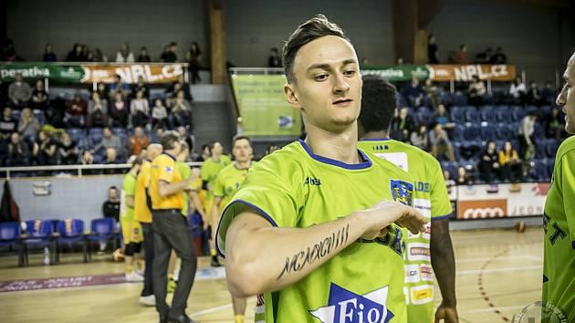 Křídlo jindřichohradecké Basket Fio banky Lukáš Kantůrek.