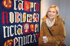 Výstava Vladimír Holub - Tapiserie potrvá v Domě gobelínů v Jindřichově Hradci do 10. prosince.