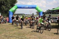 Ve 12 hodin odstartovali účastníci 19. ročníku MTB MARATONU - závodu horských kol.