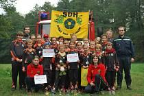 Vítězní malí hasiči ze Stráže nad Nežárkou.