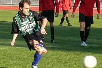 Útočník či ofenzivní středopolař Jan Beneš se stal nejlepším podzimním střelcem fotbalistů Slovanu Jindřichův Hradec. Konto soupeřů zatížil celkem dvanácti góly a několik z nich padlo i ze značky pokutového kopu.