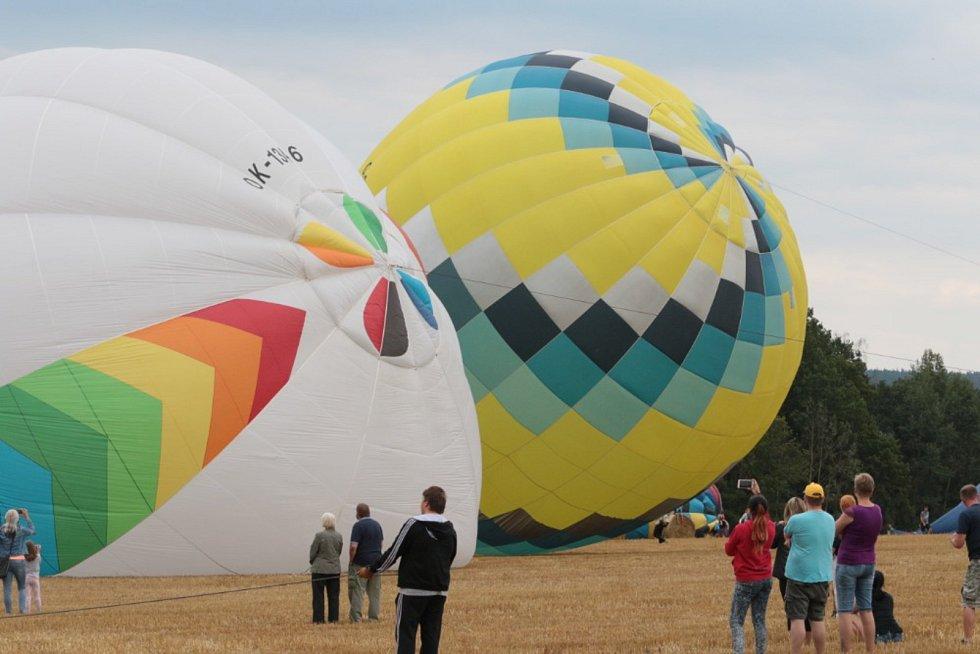 Mistrovství ČR v balonovém létání 2019 se konalo v Jindřichově Hradci.