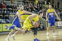 Jindřichohradečtí basketbalisté porazili Zlín 95:54.