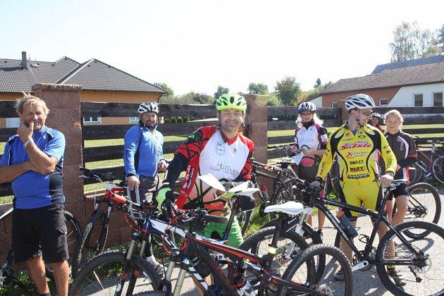Jednou z víkendových cyklistických akcí bude Přes kopec na Hradec.