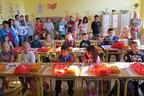Zahájení školního roku v Rapšachu.