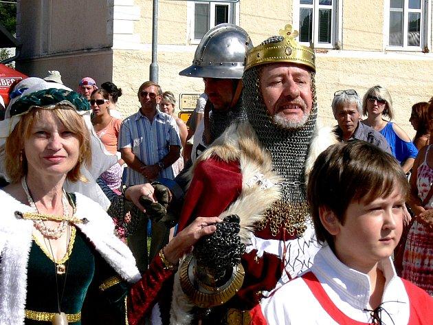 Slavnosti ve Starém Městě pod Landštejnem.