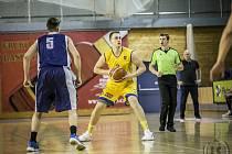 K vysokému vítězství hradeckých basketbalistů výrazně přispěl i Lukáš Stegbauer.