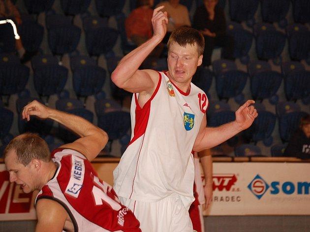 Mezi nejlepší víkendové střelce BK JH patřil Michal Šušák.