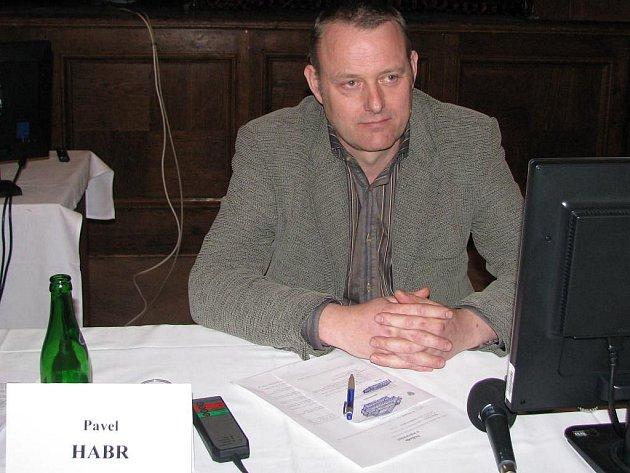 Místostarosta Dačic Pavel Habr.