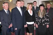 Nové vedení třeboňské radnice.