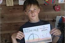 V KATEGORII dorostenců se z vítězství v patnáctém ročníku Železného muže radoval Jan Dušejovský z Plavska.