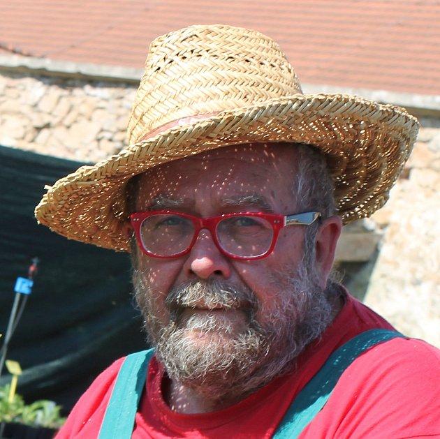 Zahradník Martin Charvát zJindřichova Hradce
