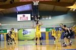Vyrovnané utkání s Děčínem ztratili jindřichohradečtí basketbalisté až v samotném závěru.