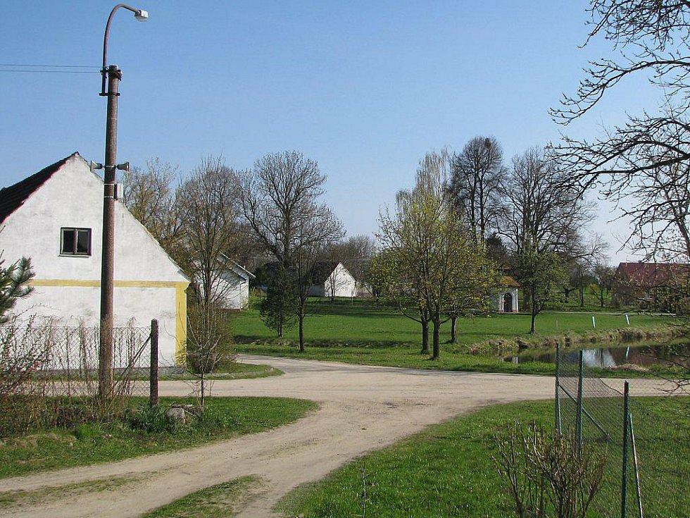 Slunečné sobotní dopoledne v Kolencích.