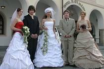 I letos se do Třeboně vrátí svatební inspirace.