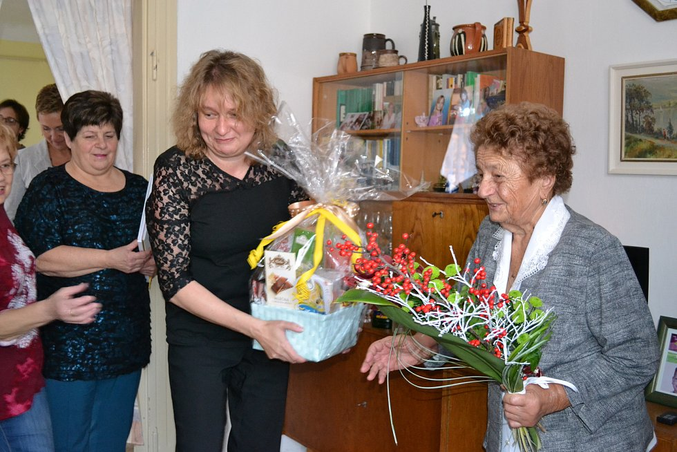 Významného životního jubilea se paní Marie Kašková dožívá v sobotu 25. listopadu 2017.