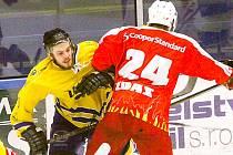 Hokejisté Vajgaru doma prohráli se Žďárem nad Sázavou 3:11.