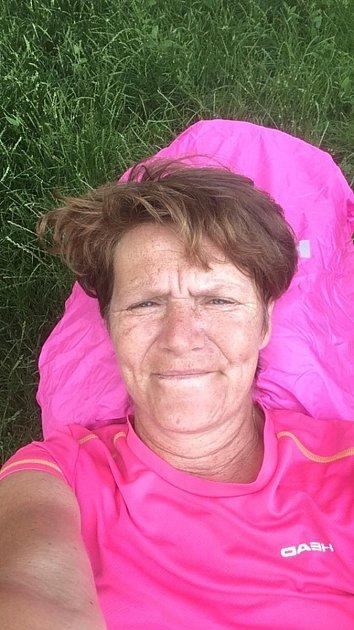 Šestý den vyšla Martina Šlincová zVelkého Ratmírova na trasu Brno Tuřany - Bučovice odélce 30kilometrů, co se jí honilo hlavou?