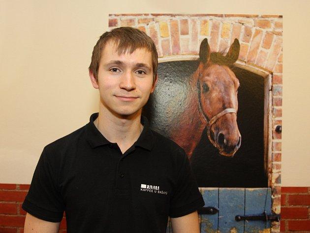 Jezdec Jan Bašata.