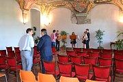 Mladí hudebníci z Německa se zdrží v Hradci celý týden.