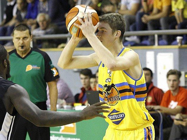 Mladý rozehrávač Lions Štěpán Fical.