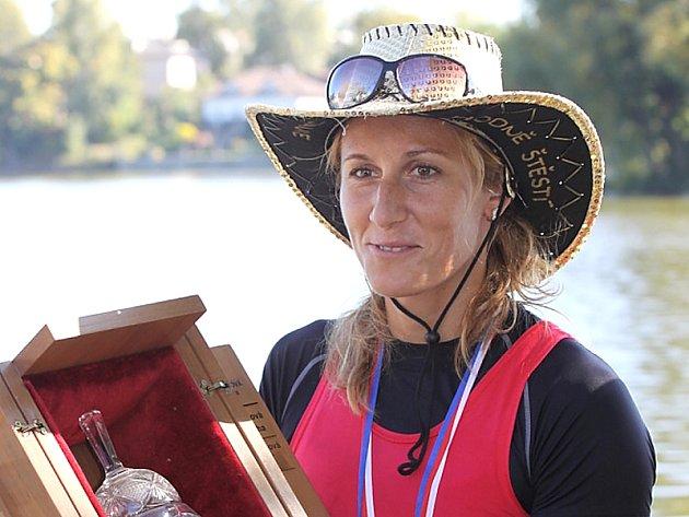 Olympijská vítězka ve skifu Mirka Knapková.
