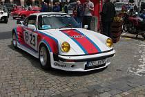 Jindřichohradečtí obdivovali historická auta.