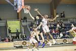 V úvodním utkání basketbalového turnaje  Young Guns GBA Invitational jindřichohradecká GBA porazila americkou Atlantu 81:76.